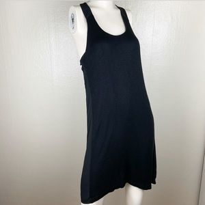 Lou & Grey Black Racer Back Dress